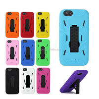 New Arrival Fashion Robot Pattern PC Silicon Hybrid Mobile Phone Case For iphone 6 4.7 Inch