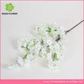 para la orden de flor artificial cereza con ramas 4 para la decoración de la puerta en la acción
