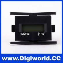 Waterproof Universal Motorcycle Bicycle Bike Hour Meter Timer Digital LCD Hour Meter
