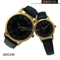China wholesale Black alloy lovers watch
