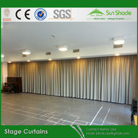 Custom Sewn Stage Curtains/Drapery /Backdrops