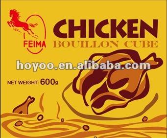 nigeria brodo di pollo cubo