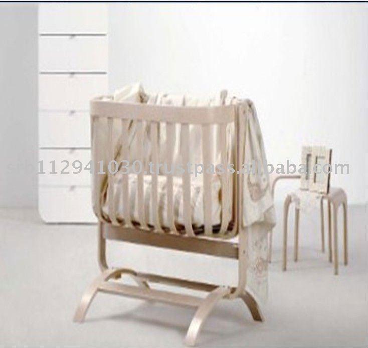 Cuna UOVO cama de bebé de madera