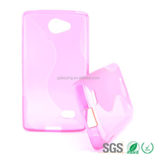 Top selling S line plastic soft mobile phone cover case For LG JOY Y30