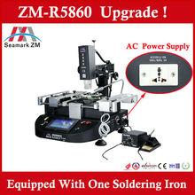 2015 bga/smt smd rework station ZM-R5860 bga welding machine ,three hot air high precision