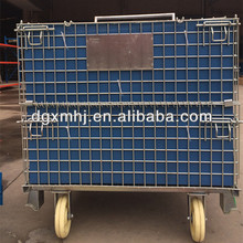 Heavy duty Metal Steel folding storage cage