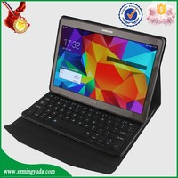 Factory keyboard case for samsung T800 , 10.5 inch tablet pc leather keyboard case