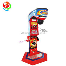 Dragon punch coin operated electronic boxing arcade game