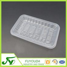 Customized PP disposable white plastic 2013 fresh fruit tray