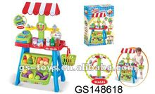 2012 Newest Rising Products Market Stall Set With Balance & Cash Register Toy