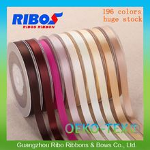 100% Eco-Friendly Materials Polyester Wholesale 15MM Satin Ribbon For Gift Description