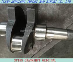 Multi and single-cylinder diesel engine spare parts SF195 original crankshaft