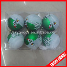 promotional customized new year christmas ball