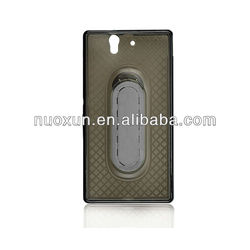 mobile phone stander case for sony Xperia Z/L36H