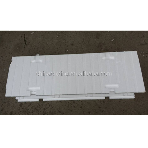 Modern construction materials high density eps foam for Icf concrete forms for sale