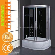 blue film shower cabin shower room foot massage,new disign shower cabin and steam bath room