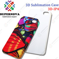 3D Sublimation Blank Phone Case for iPhone4s