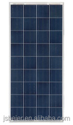 135W/140W/145W/150W/155W Poly solar panel/module China Manufacturer high efficiency for LED Street light, solar system