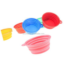 Best quality hot selling silicone pet travel water bowl