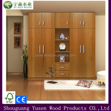 Customized bedroom furniture prices/ bedroom MDF wardrobe designs