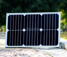 hot sell Sun power solar panel for adventure power supply