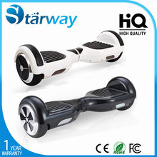 Starway two wheel smart balance electric scooter/two wheels self balancing electric scooter