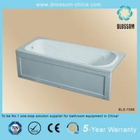 cheap price rectangle bathtubs small size