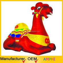 Customized inflatable red horse giant inflatable horse