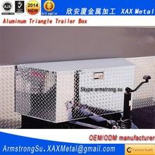 XAX1400Alu OEM ODM customized mounting kituws black driver side aluminum van triangle trailer box