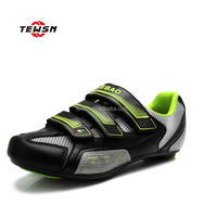 Fashion design breathable comfortable road bike shoes cycling shoes
