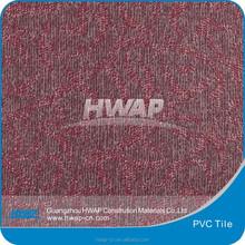 hotel corridor use carpet grain vinyl plank / PVC tile