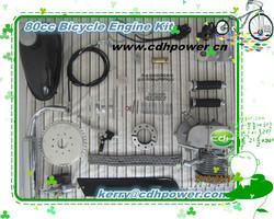80cc motorized bike engine kit/mini motorcycle 80cc motor kit/kit motore a benzina per la bicicletta 80cc