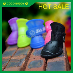 Factory direct sale Waterproof Pet shoes , Dog shoe boots 2 pairs / bag