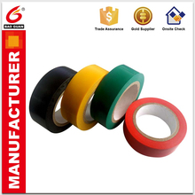 White Black Red Yellow Green self adhesive Insulation Pvc Electrical Tape