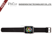 high quality metal buckle watch adapter wristband for apple watch