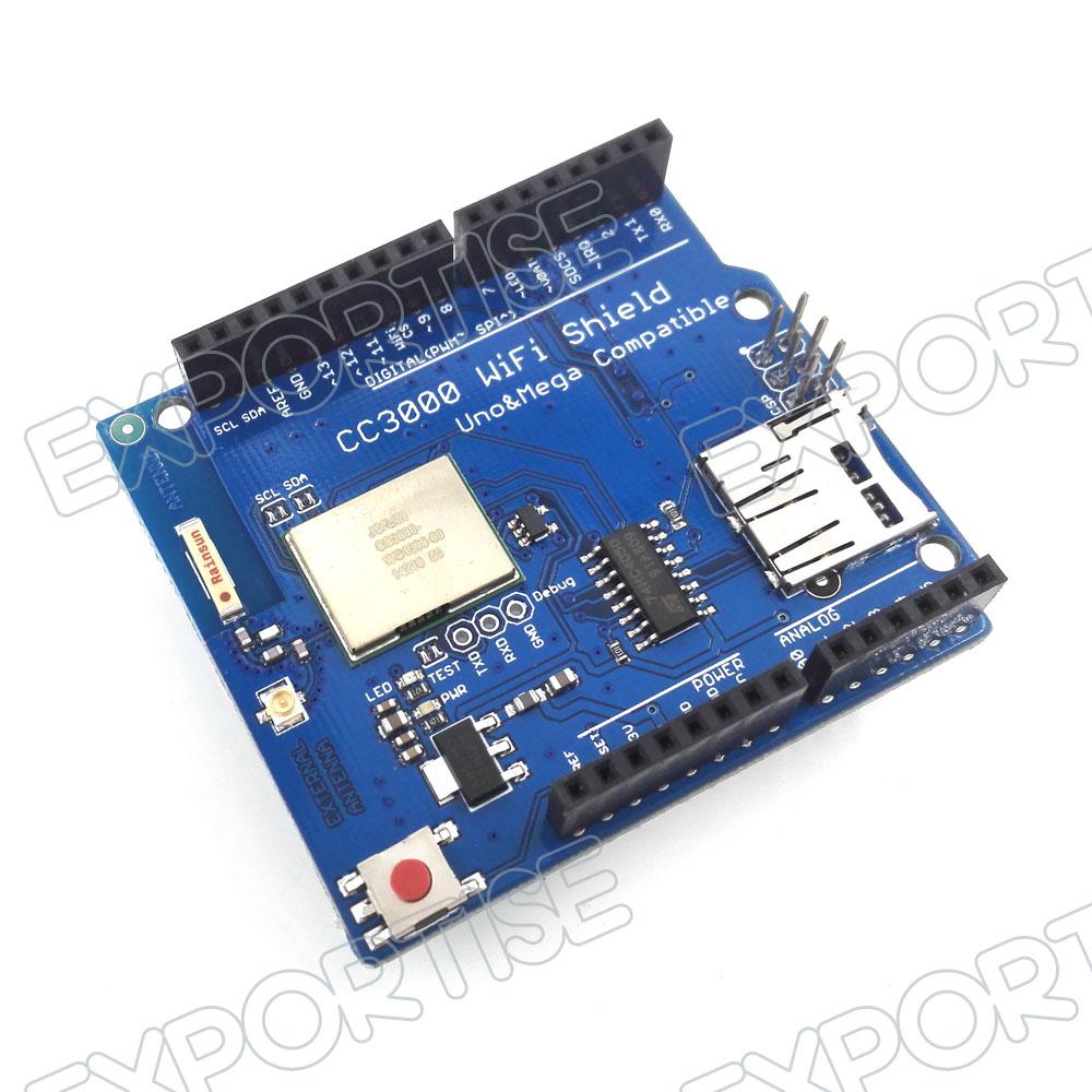 Cc wifi shield for arduino uno r mega simplelink