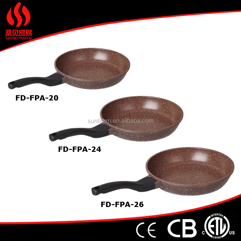 Forged Aluminum Ceramic Coating Color Changing Fry Pan