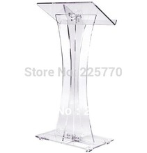 "clear acrylic podium <span class=""wholesale_product""></span> church acrylic podium/High-grade lectern of the Christian bible chu"