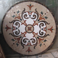 Water Jet Floor Medallion Marble Medallion MM10
