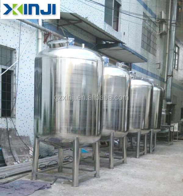 12 SS304 Stainless Steel Chemical Storage Equipment