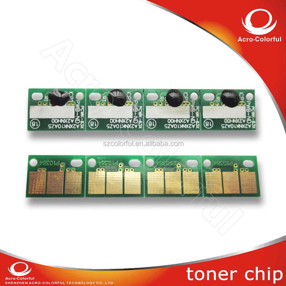 C224 copiadoras de Color de tóner para konica minolta bizhub repuestos C224 284 364 C454 C554 reajustó la viruta del tambor