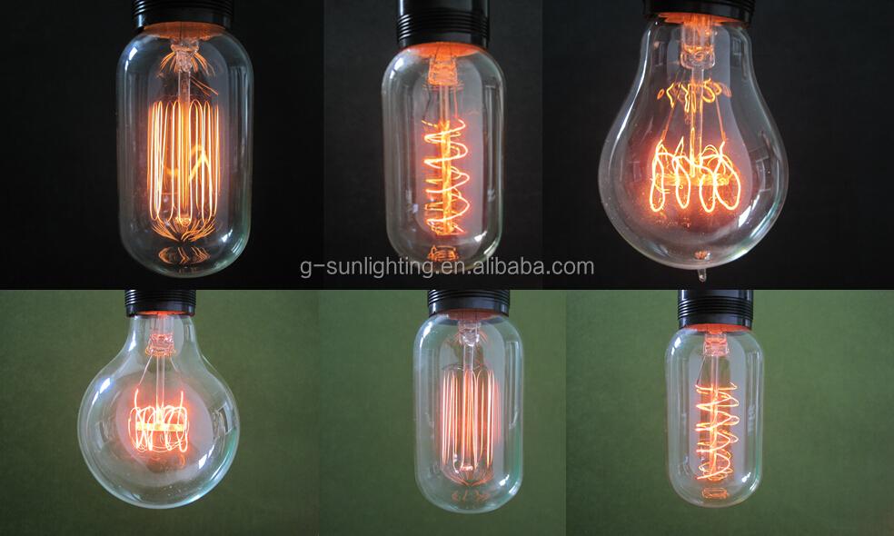 Lampada Filamento Decorativa : Carbon Filament Lamp