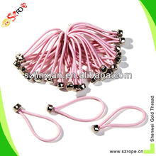Ball tie,Ball bungee,bungee tie with metal ball