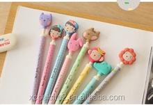 S012 Korea cartoon quality color cute ballpoint pen
