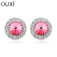 OUXI New earring designs made with Swarovski Elements