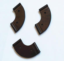 Industrial temperature limit U-shaped rubber gasket