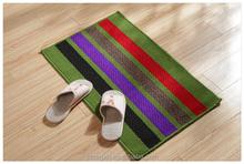 colorful striped carpet bedroom floor bedside rug
