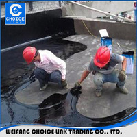 Rubber Asphalt Waterproofing Coating for concrete roof