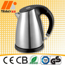 1.7L Electric cordless stainless steel kettle for hotel