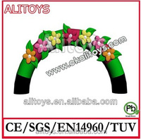 Ali 2014Top sell cheap inflatable arch for christmas